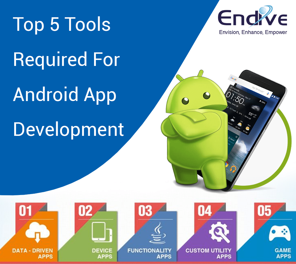 Top 5 Tools Required For Android App Development