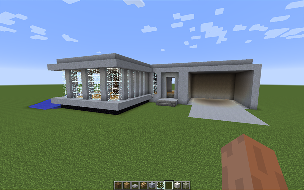 design houses with minecraft - Good Design House