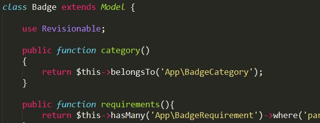Laravel Code