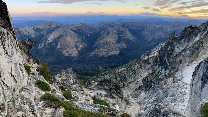Argonaut peak descent