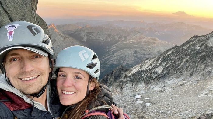 Sherpa peak sunset