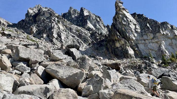 Sherpa peak boulder field