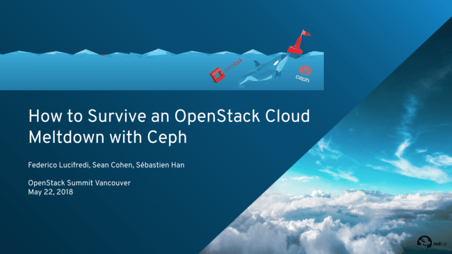 How to Survive an OpenStack Cloud Meltdown with Ceph