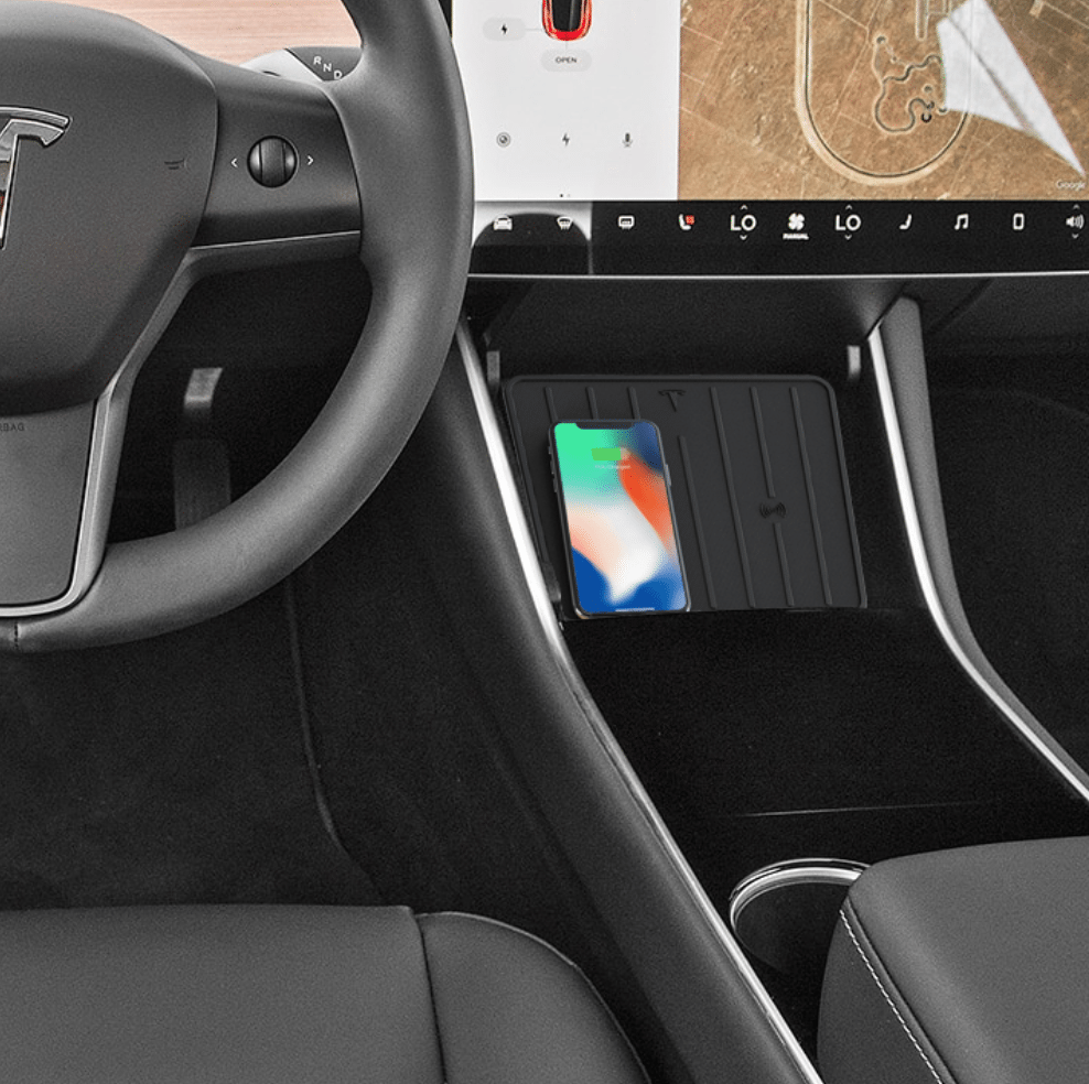Tesla Model 3 Wallpaper Iphone: Tesla Model 3 Wireless Charging