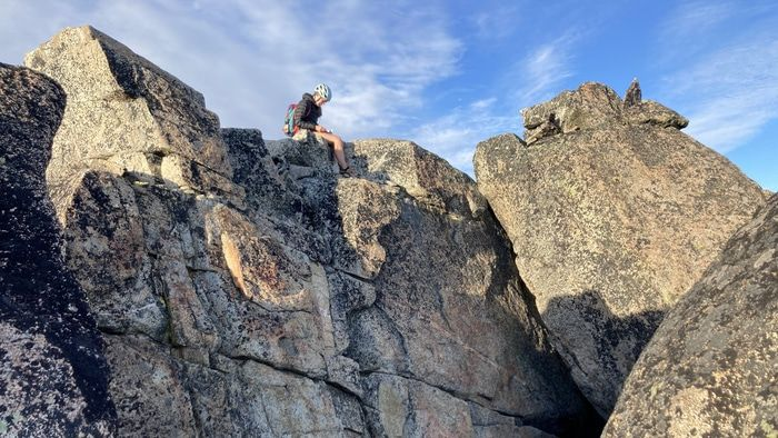 Argonaut peak summit