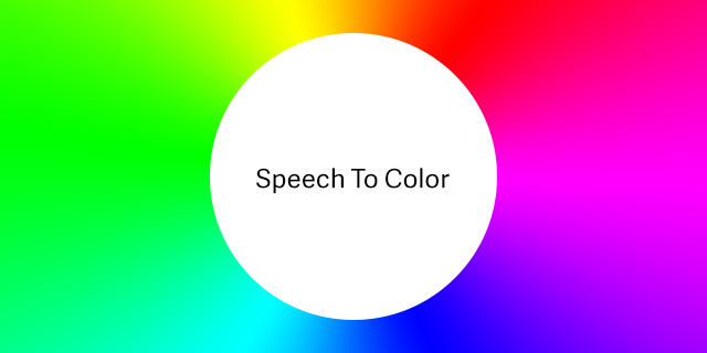 Speech To Color