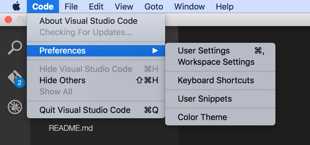 Setting up a TypeScript + Visual Studio Code development