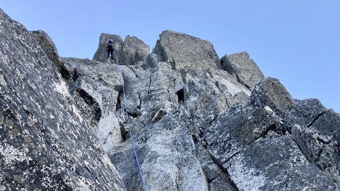 Sherpa peak rappel 5