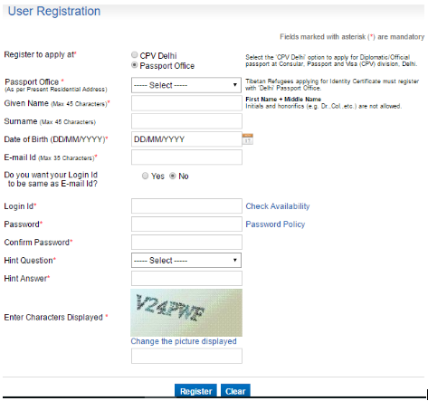 How To Apply For An Indian Passport
