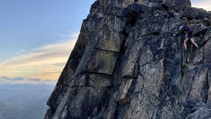 Argonaut peak downclimb