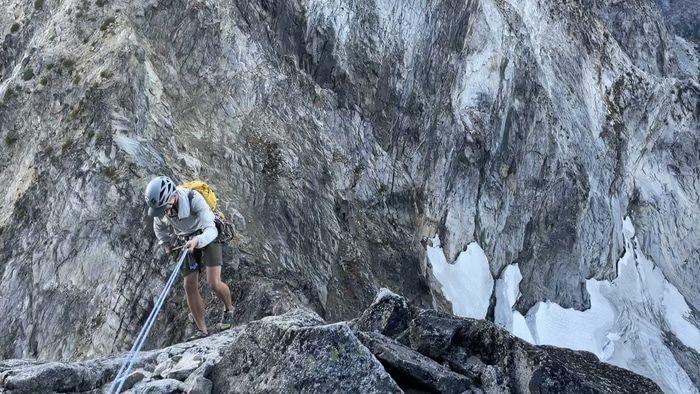 Sherpa peak rappel