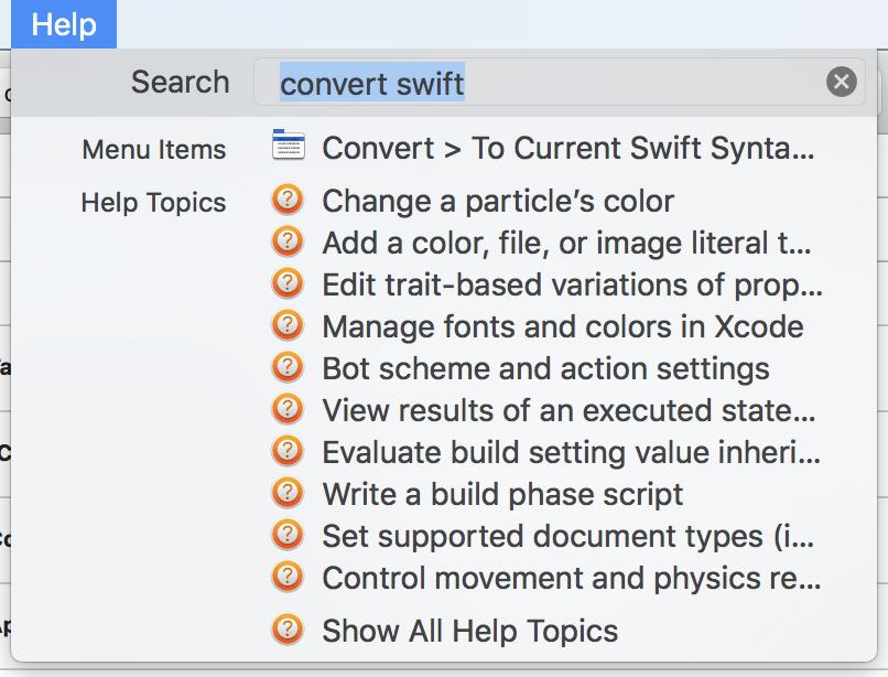 A Few Xcode Tips