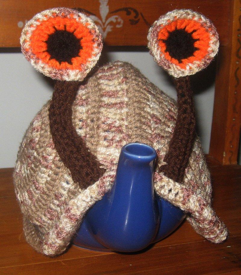 Knitting Pattern For Snail Tea Cosy : Snail tea cosy pattern