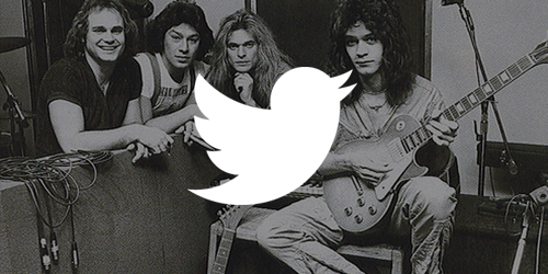 Van Halen and Twitter