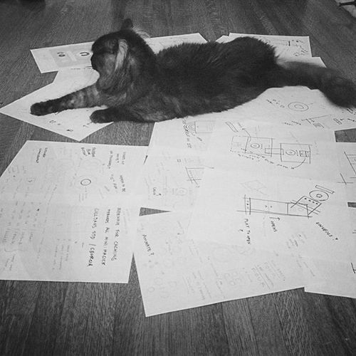 Kitty and Notes
