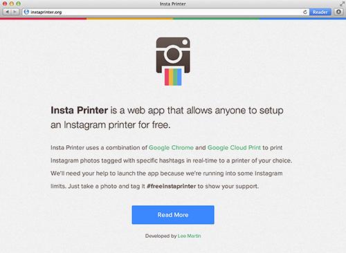 Insta Printer App