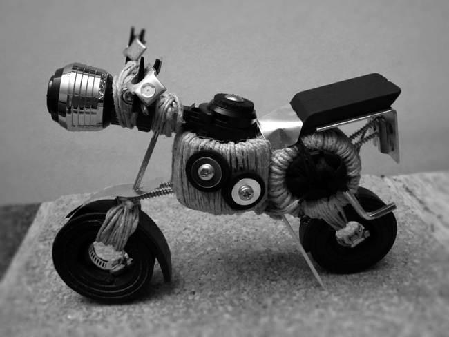 Strange motorbike