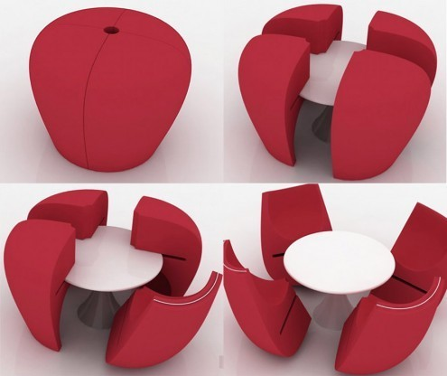 Space Saving Furniture Decor Table Chairs