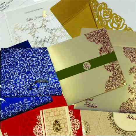 Types Of Indian Wedding Cards