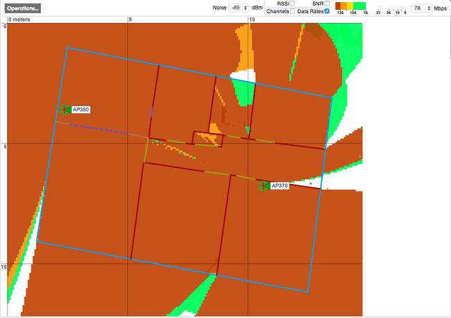 Aerohive planner - dark orange is good