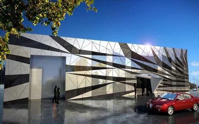 Composite Panels For Building Facades