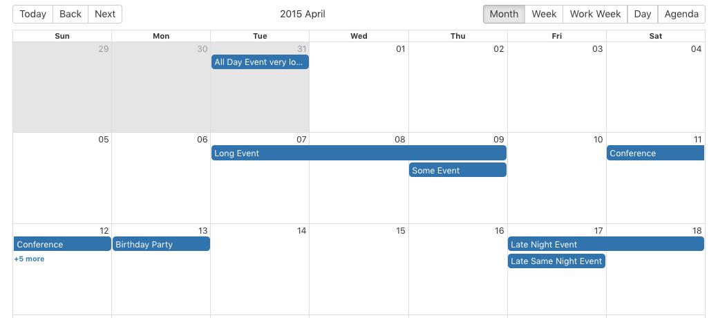 React Big Calendar.Getting React Big Calendar To Work