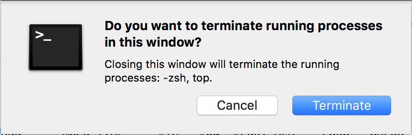 Setting an alternative shell in macOS Terminal