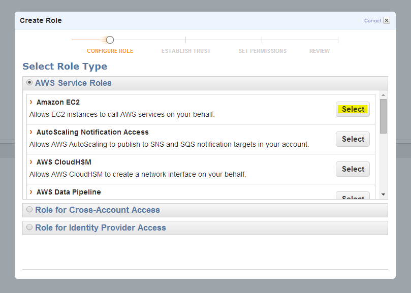 Setting up Auto Scaling on EC2