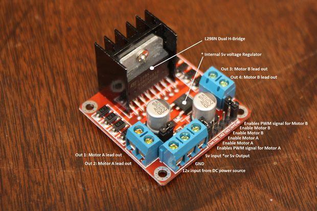 Dual Stepper Motor Shield for Arduino - EpicTinkercom
