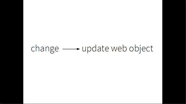 slide: change -> update web object
