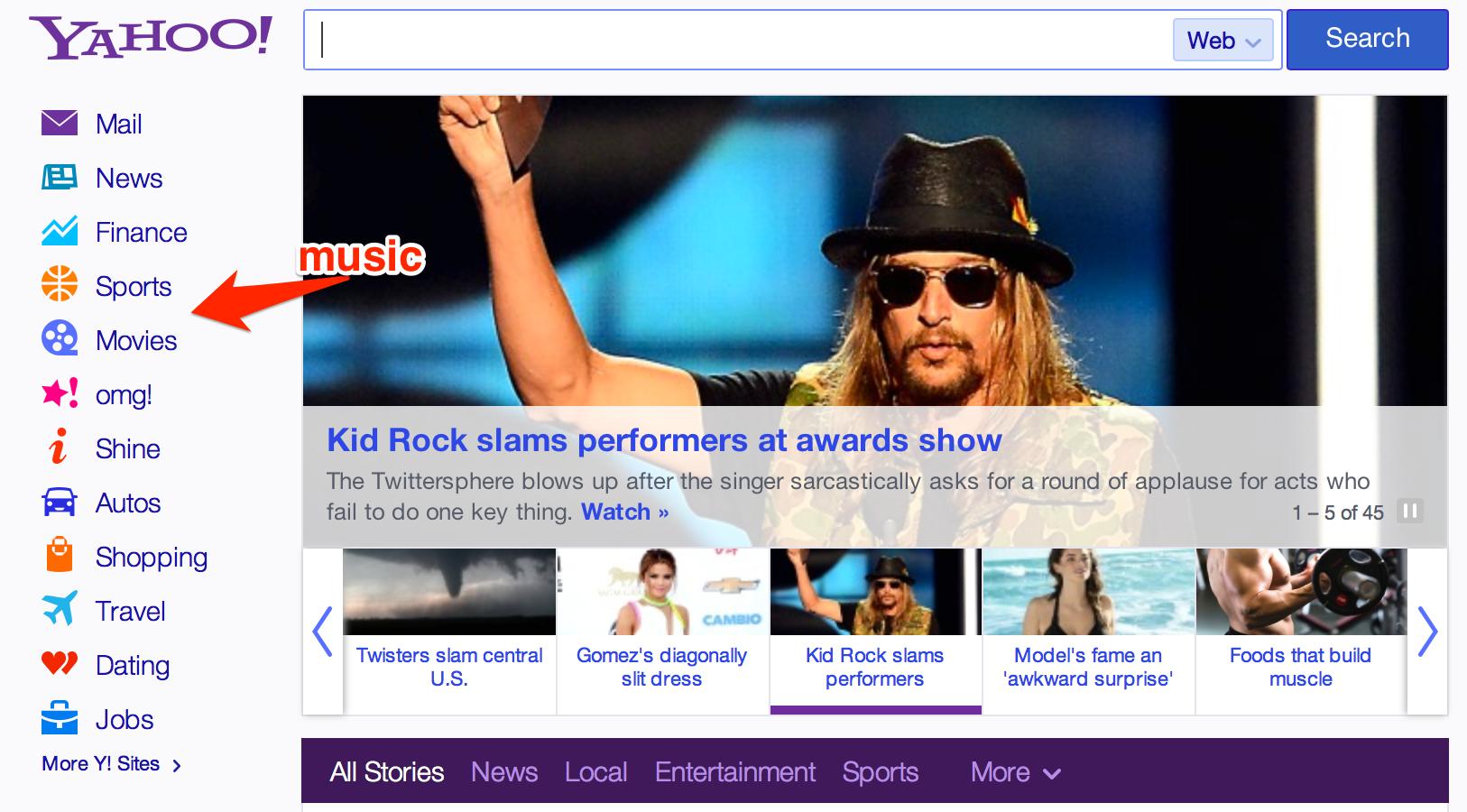 Yahoo Shine dating