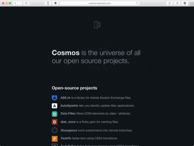 LayerVault Cosmos