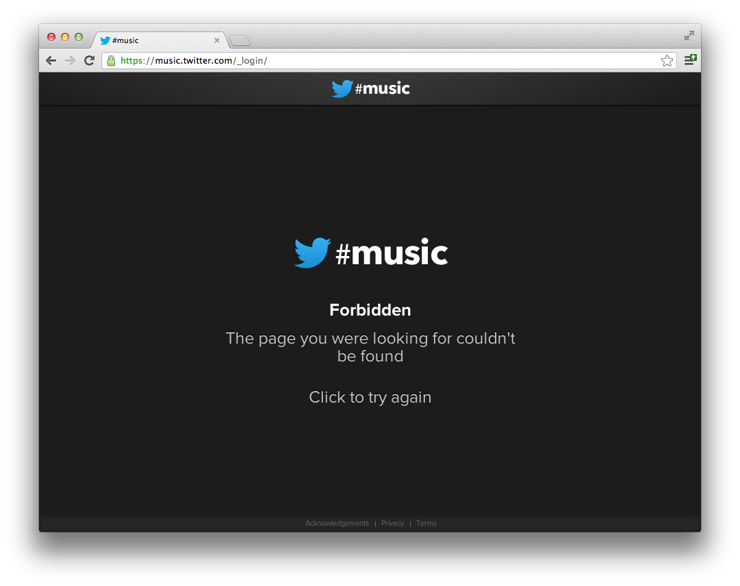 LEAKED: Twitter's Music App will integrate Spotify, Rdio